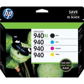 originální sada HP 940XL originální inkoustové cartridge náplně pro tiskárnu HP OfficeJet Pro 8500a Plus