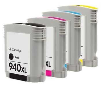 sada HP 940XL kompatibilní inkoustové cartridge pro tiskárnu HP OfficeJet Pro 8500a Plus