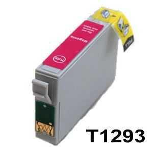 Epson T1293 magenta cartridge purpurová kompatibilní inkoustová náplň pro tiskárnu Epson Stylus Office BX525WD