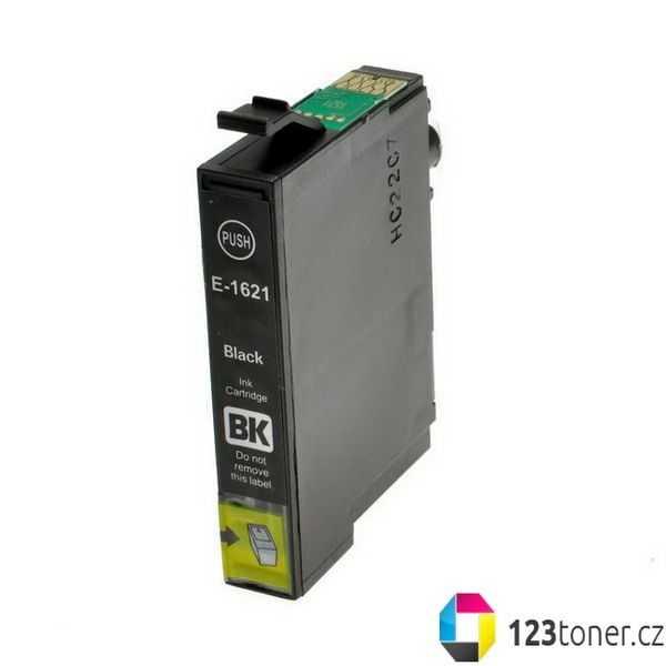 Epson T1621 black cartridge černá kompatibilní inkoustová náplň pro tiskárnu Epson WorkForce WF-2530WF