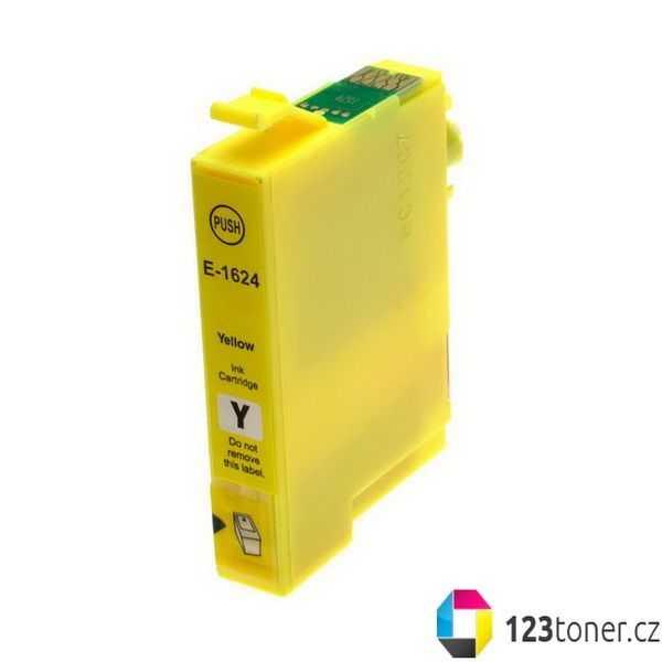 Epson T1624 yellow žlutá cartridge kompatibilní inkoustová náplň pro tiskárnu Epson WorkForce WF-2530WF
