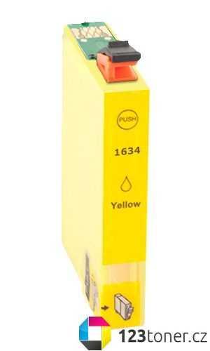 Epson T1634XL yellow žlutá cartridge kompatibilní inkoustová náplň pro tiskárnu Epson WorkForce WF-2530WF