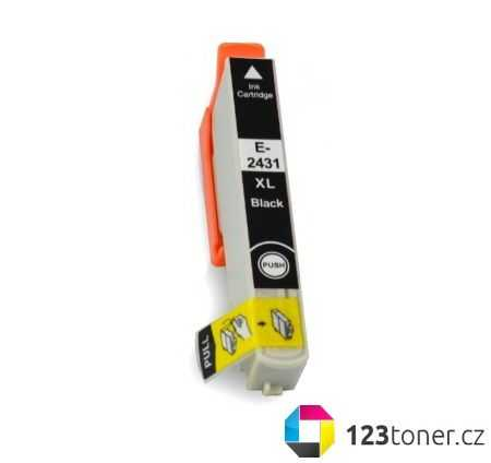 Epson T2431 black cartridge černá kompatibilní inkoustová náplň pro tiskárnu Epson Expression Photo XP-760