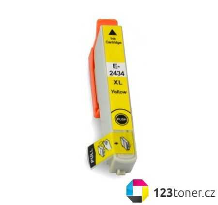 Epson T2434 yellow cartridge žlutá kompatibilní inkoustová náplň do tiskárny Epson Expression Photo XP-850