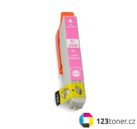 Epson T2436 magenta cartridge světlá purpurová kompatibilní inkoustová náplň do tiskárny Epson Expression Photo XP-860