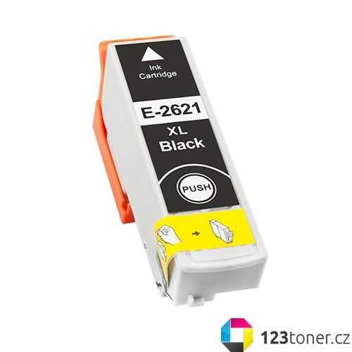 Epson T2621 - 26XL black cartridge černá kompatibilní inkoustová náplň pro tiskárnu Epson Expression Premium XP-610