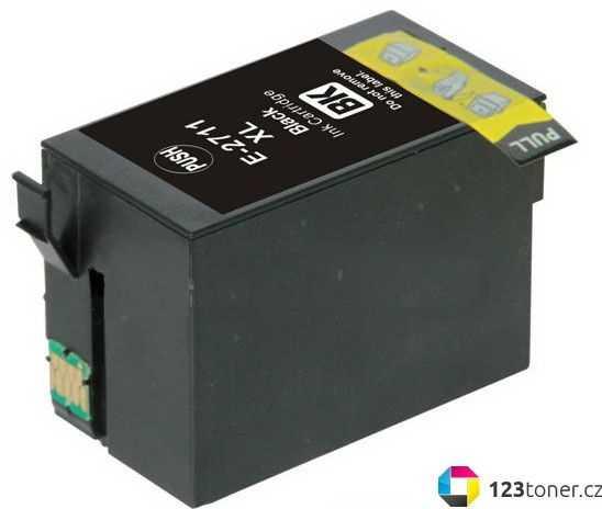 Epson T2711 black cartridge černá kompatibilní inkoustová náplň pro tiskárnu Epson WorkForce WF-7620 DTWF