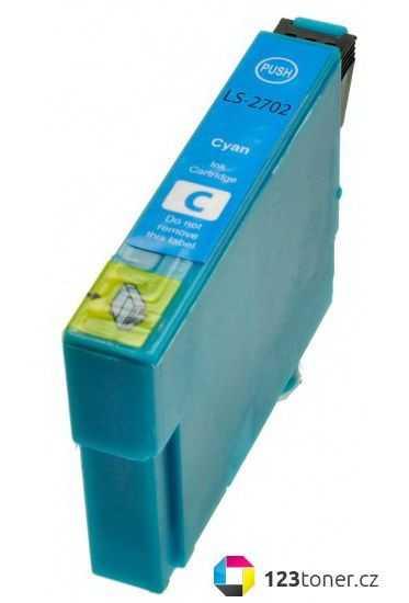Epson T2712 cyan cartridge modrá kompatibilní inkoustová náplň pro tiskárnu Epson WorkForce WF-7620 DTWF