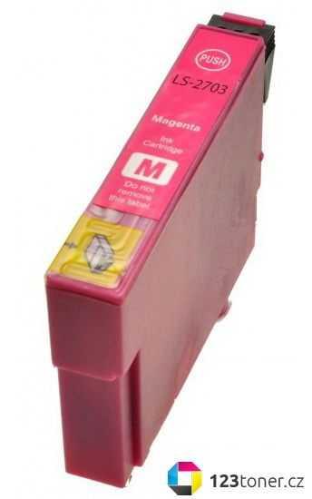 Epson T2713 magenta cartridge červená kompatibilní inkoustová náplň pro tiskárnu Epson WorkForce WF-7620 DTWF
