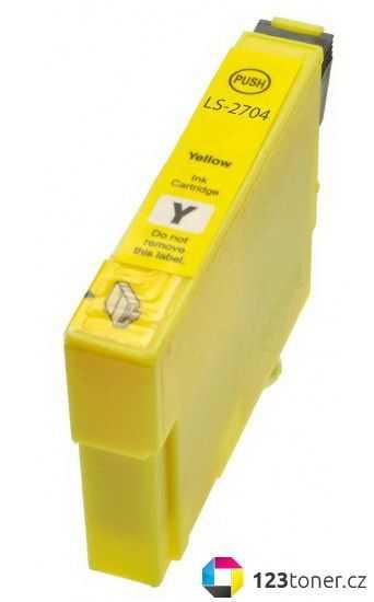 Epson T2714 yellow cartridge žlutá kompatibilní inkoustová náplň pro tiskárnu Epson WorkForce WF-3620 DNF
