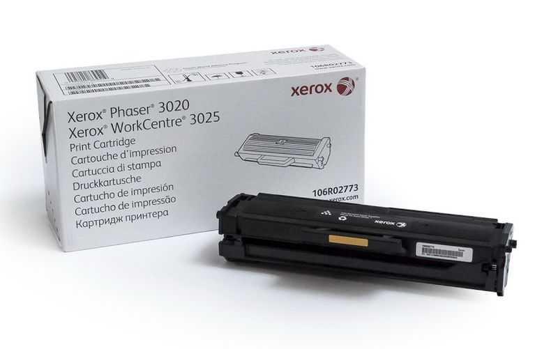 Originální toner Xerox 106R02773 black černý toner pro tiskárnu Xerox Phaser 3025